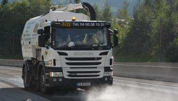 Lavage de route Haute Savoie