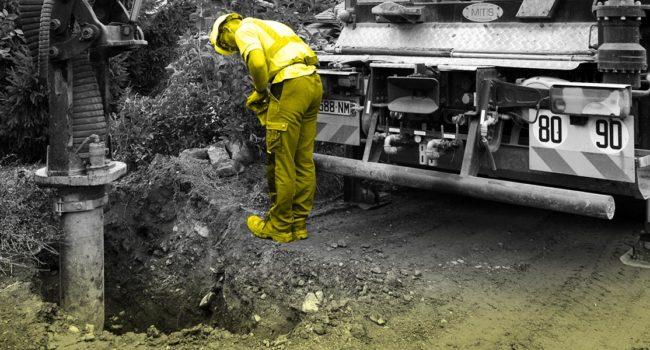 Location aspiratrice excavatrice